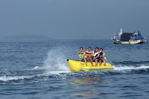 Banana Boat at Sanur Beach